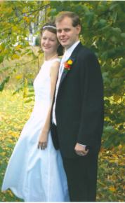 The Radfords on their Wedding Day